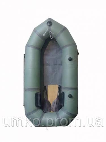 """Надувная резиновая лодка Лисичанка """"Стриж"""". Одноместная. Без уключин. Бесплатная доставка"""
