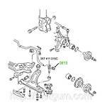 08-13 Втулка тяжки стабилизатора Volkswagen Passat; 357411315C, фото 3
