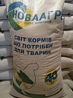 Новоагро Комбикорм ПК 3-4 Ростовой от 9 до 22 недель  для циплят несушки  40 кг