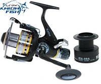 Рыболовная спиннинговая катушка HA-60A 6BB с байтранером