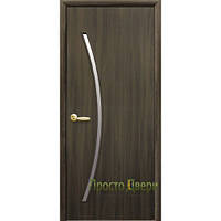 Двери межкомнатные  Дива экошпон венге 3д, дуб жемчужный, кедр, сандал, ясень патина, ольха, орех