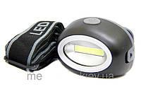 Светодиодный на лобный фонарь Bailong LED BL-2089 COB с регулируемой длинной ремней