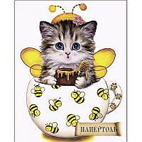 Набор для создания объемной картины из бумаги Кото-чашка Пчелки