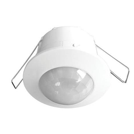Датчик руху HOROZ HL485 вбудовуваний білий