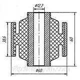 13-01 Сайлентблок задней балки Nissan Maxima (A32); Infiniti I30 (A32); 550452L700, 5550143U01, фото 2