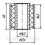 13-12 Сайлентблок задней балки, поперечного рычага Nissan Maxima, Infiniti I30; 551570M011;, фото 2