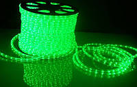 Светодиодная лента LED 5050 с зелеными диодами бухта 100 метров 220V