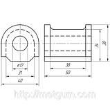 32-02 Втулка переднего стабилизатора (спорт) ВАЗ 2110 — 2112; 2110-2906040, фото 2