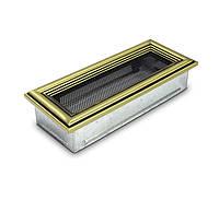 Вентиляционная решетка для камина 4fire ретро 11х24см.