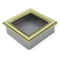 Вентиляционная решетка для камина 4fire ретро 17х17см.