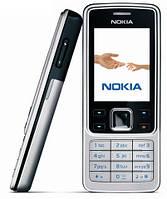 Мобильный телефон 6300 Nokia (копия) Q630 dual sim 2 сим карты металлический корпус