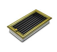 Вентиляционная решетка для камина 4fire ретро 17х30см. с жалюзи