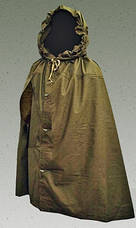 Плащ-палатка солдатская  СССР. Кожаные кольца, фото 3
