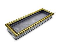 Вентиляционная решетка для камина 4fire ретро 17х50см.