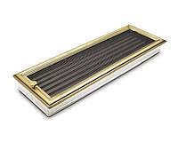 Вентиляционная решетка для камина 4fire ретро 17х50см. с жалюзи