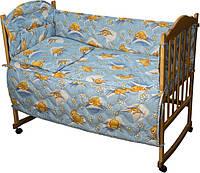 Набор в кроватку 977 Сладкий сон голубой РУНО