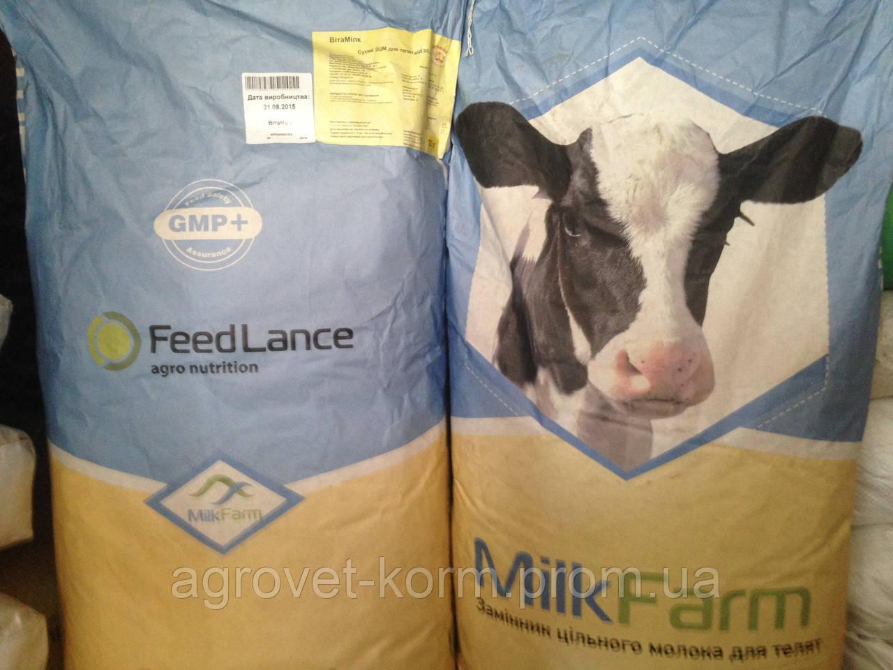 Агроветатлантiк ТМ Здорова Замінник цільного молока Вітамілк ЗЦМ вiд 5 дня для телят.   25 кг