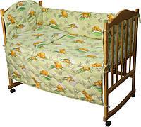 Набор в кроватку 977 Сладкий сон салатовый РУНО