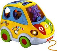 Музыкальная машинка-сортер Автошка 9198
