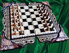 Шахматы-нарды сувенирные ** Охота **