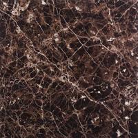Керамогранит Китай глазурованная, полированная Marble Tiles Мрамор Dark Brown Бежевый, 600х600