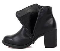 Удобные ботинки на толстом каблуке