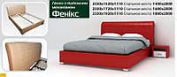"""Двуспальная кровать """"Феникс"""" с подъемным механизмом"""