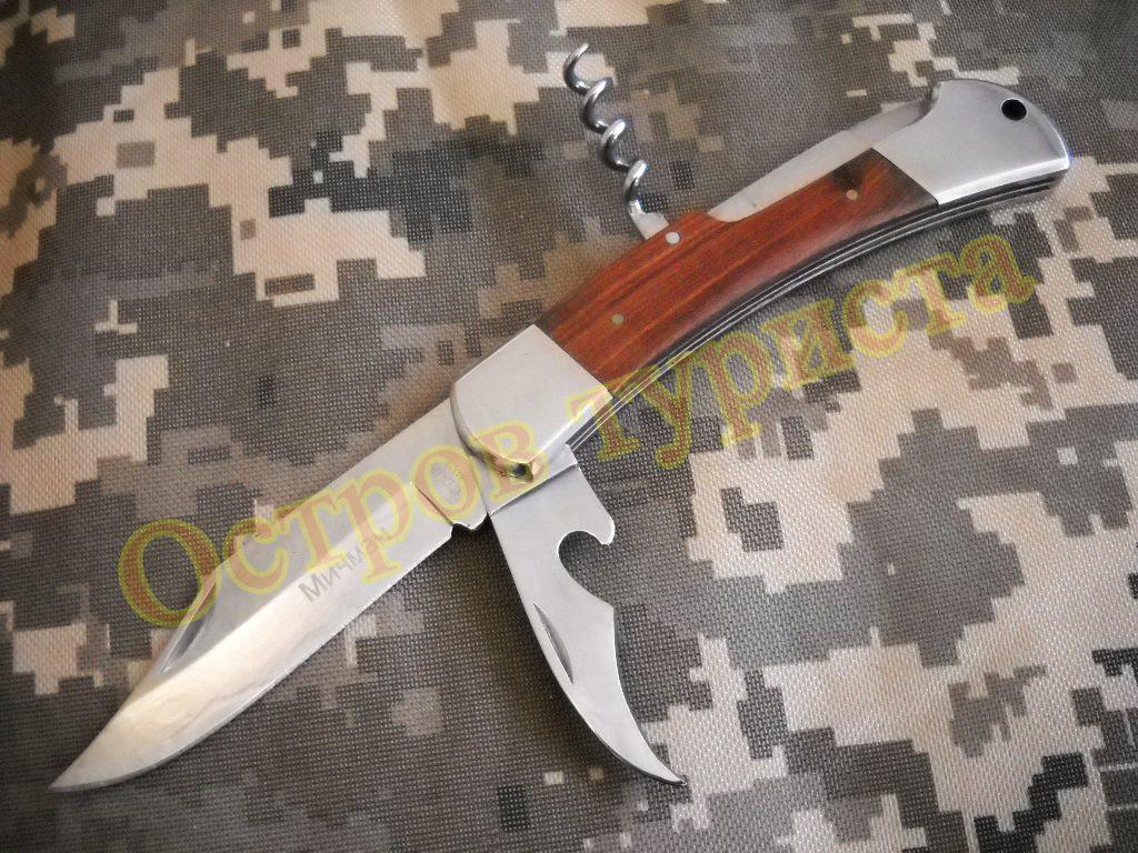 Нож складной Мичман F007 сталь 65х13
