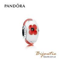 Pandora шарм ДИКИЕ ЦВЕТЫ #791636 серебро 925 Пандора оригинал