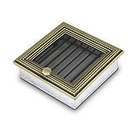Вентиляционная решетка для камина 4fire ратан 17х17см. с жалюзи