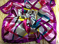 Платок шейный атласный размер  52 см