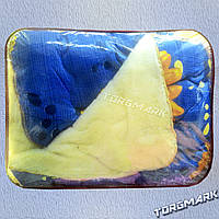 Одеяло Шерстяное открытое Бязь+Мех (150 х 210 см)