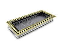 Вентиляционная решетка для камина 4fire ратан 17х40см.