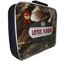 Велюровый плед Lotus Flower 160x200 см (стриженный).