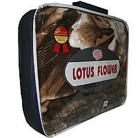 Велюровый плед Lotus Flower 200x240 см (стриженный).
