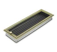 Вентиляционная решетка для камина 4fire ратан 17х50см. с жалюзи