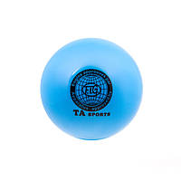 Мяч гимнастический TA SPORT голубой