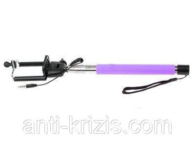 Монопод для селфи AUX, фиолетовый Z07-5S