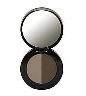 Тени для бровей Freedom Makeup Duo Eyebrow Powder - Medium Brown