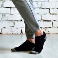 331 р.21-23 Шкарпетки жіночі демі (35-37) ЧОРНИЙ (Євроколекція) (плюш.слід)