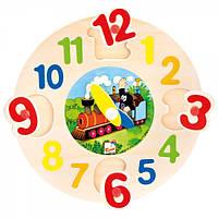 Деревянные пазл - часы, Крот, Bino