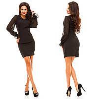 Платье креп-костюмная,шифон . Платья. Купить платье. Магазин одежда. Платье фото.Одежда  каталог.