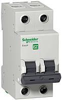 Автоматический выключатель Easy9  2Р, 6А, 4.5кА, тип С, EZ9 Schneider Electric