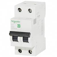 Автоматический выключатель Easy9  2Р, 10А, 4.5кА, тип С, EZ9 Schneider Electric