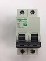 Автоматический выключатель Easy9  2Р, 16А, 4.5кА, тип С, EZ9 Schneider Electric
