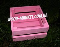 Ящик из натурального дерева