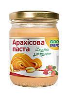 Арахисовая паста (масло) хрустящая с клубникой GOOD ENERGY 250г