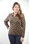 Батник  рубашка блузка ,молодежный трикотажный ., фото 2