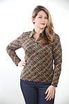 Батник  рубашка блузка ,молодежный трикотажный ., фото 3