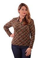 Батник  рубашка блузка ,молодежный трикотажный .